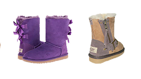 Детские угги 2017-2018: советы по выбору обуви