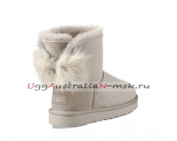 UGG BOW MINI FLUFF BOOT WILLOW
