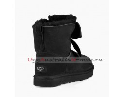 UGG GITA BOW MINI BOOT BLACK