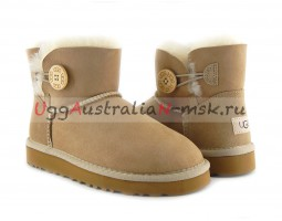 UGG BAILEY BUTTON MINI II SAND