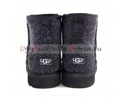 UGG CLASSIC MINI SEREIN BLACK
