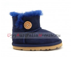 UGG FOR BABIES BAILEY BUTTON NAVY