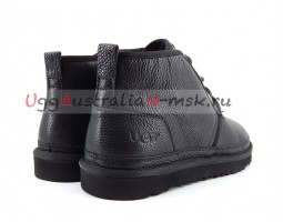 UGG MENS BOOTS NEUMEL II METALLIC BLACK