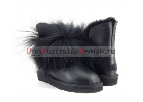 UGG IRINA FUR GUN II METALLIC BLACK