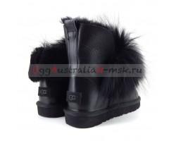 UGG IRINA FUR GUN II METALLIC BLACK