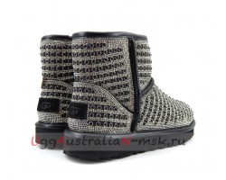UGG MINI SHORT PEARL BLACK