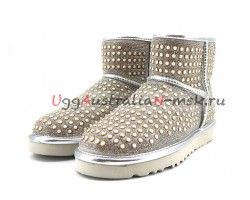 UGG MINI SHORT PEARL WHITE