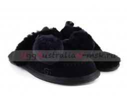 UGG SLIPPER HAFNIR BLACK