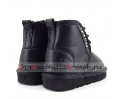 UGG KIDS BOOTS NEUMEL METALLIC BLACK