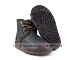 UGG KIDS BOOTS NEUMEL METALLIC CHOCOLATE