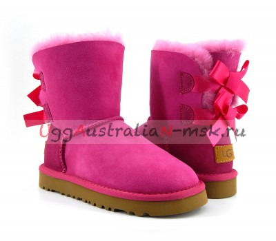 UGG KIDS TODDLERS BAILEY BOW II PINK