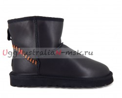 UGG MEN CLASSIC MINI DECO BLACK