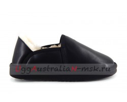 UGG MEN SLIP-ON KENTON METALLIC BLACK