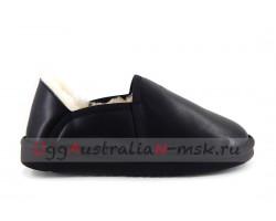 UGG MEN SLIP-ON KENTON METALLIC BLACK