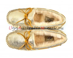 UGG DAKOTA SPARKLE GOLD