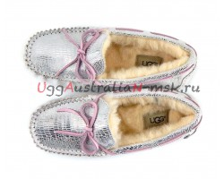 UGG DAKOTA SPARKLE SILVER