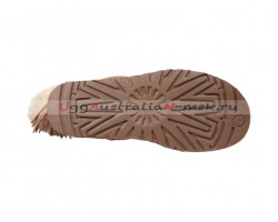 UGG CHARM HELL HAIR BALL II POM CHESTNUT