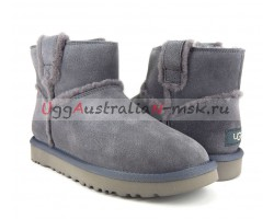 UGG CLASSIC MINI TOP WOOL GREY