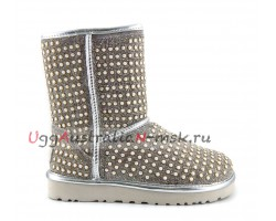 UGG CLASSIC SHORT PEARL WHITE