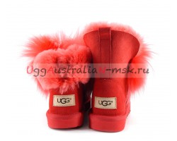 UGG IRINA FUR GUN II RED