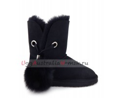 UGG IRINA II NEW BLACK