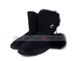 UGG IRINA II NEW BLACK