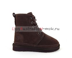 UGG KIDS BOOTS HARKLEY CHOCOLATE