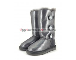 UGG KIDS BAILEY BLING TALL GLITTER BLACK