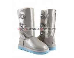 UGG KIDS BAILEY BUTTON TRIPLET I DO WHITE