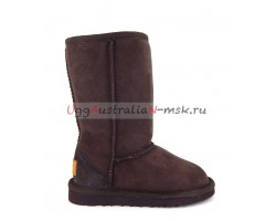 UGG KIDS CLASSIC II TALL CHOCOLATE