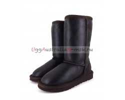 UGG KIDS METALLIC II TALL CHOCOLATE