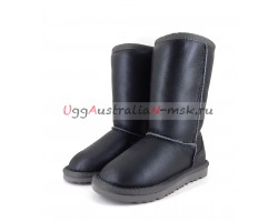 UGG KIDS METALLIC II TALL GREY