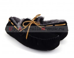 UGG MEN MOCCASINS OLSEN BLACK