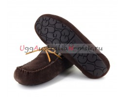 UGG MEN MOCCASINS OLSEN CHOCOLATE