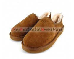 UGG MEN SLIP-ON KENTON CHESTNUT