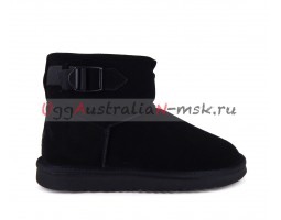 UGG MEN CLASSIC MINI STRAP BLACK