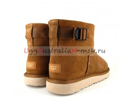UGG MEN CLASSIC MINI STRAP CHESTNUT