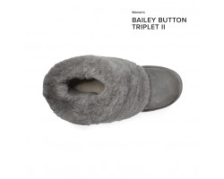 UGG BAILEY BUTTON TRIPLET II GREY