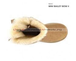 UGG MINI BAILEY BOW II SAND