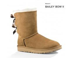 UGG BAILEY BOW II CHESTNUT