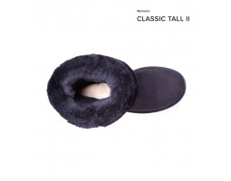 UGG CLASSIC TALL II BLACK
