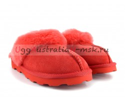 UGG SLIPPER COQUETTE TOMATO RED