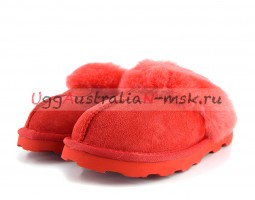 UGG SLIPPER COQUETTE TOMATO RED