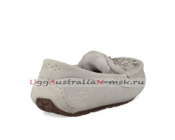 UGG ANSLEY STUDDED BLING SLIPPER GREY VIOLET