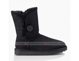 UGG BAILEY BUTTON SHORT II BLACK