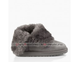 UGG BAILEY BUTTON SHORT II GREY
