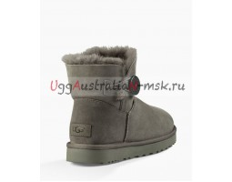 UGG BAILEY BUTTON MINI II GREY