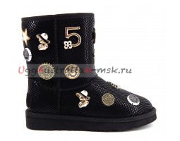 UGG & JIMMY CHOO 5 TH AVENUE BLACK
