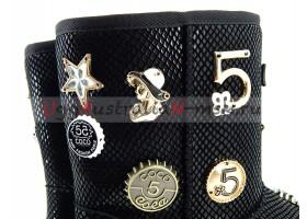 UGG & JIMMY CHOO 5 TH AVENUE BLACK