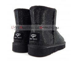 UGG & JIMMY CHOO MINI SEREIN II BLACK